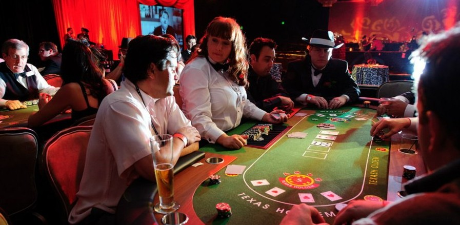 A private event featuring Seattle Casino Party entertainment!